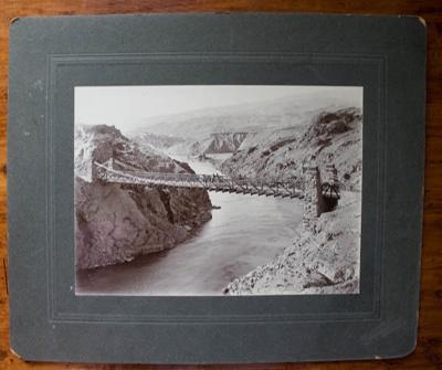 Photograph [Bannockburn Bridge]; G A Tomlinson; 19th Century; XOPO.12