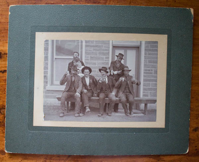 Photograph [Shamrock Hotel, Ophir]; 19th Century; XOPO.22