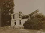 Ruins of Terrace hotel, Te Wairoa, Payton, Edward W., Circa 1900, OP-1909