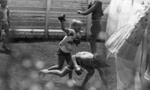 Boy and girl boxing; Jack Lang; 1967; 2010.100.1983