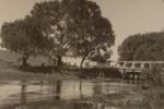 Bridge across stream - near mouth, Payton, Edward W., Circa 1912, OP-1302