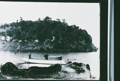 Boats Launch in Te Weta Bay - Storage Caves of Puk...