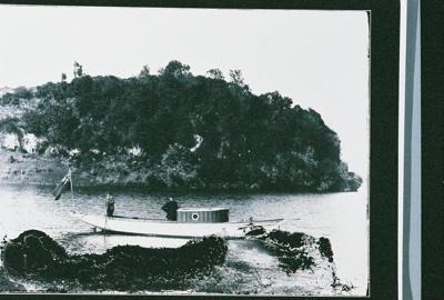 Boats launch in Te Weta Bay, GP-77