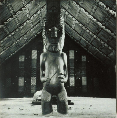View of the poutokomanawa inside of Nuku Te Apiapi...