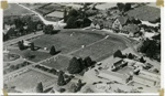 Aerial view of Government Gardens and Bath House, Circa 1947, 2008.150.109