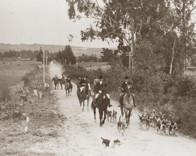 Rotorua Hunt Club - moving north Otonga Road near ...