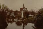 View east Wylie memorial, Circa 1910, OP-2437