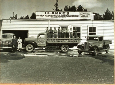 C.A Clarke & Son Ltd, Tutanekai street (north end,...