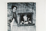 Actress 'Sabrina' with Guide Rangi., Circa 1950, CP-1651