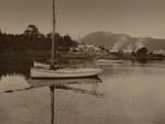 Boats moored, Payton, Edward W., Circa 1903, OP-1397