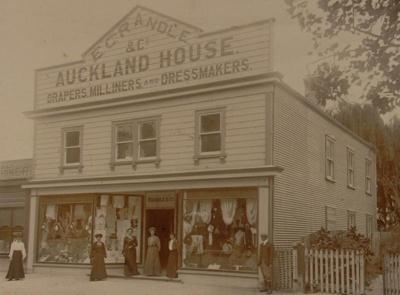 Auckland House, Arawa Street, Rotorua, Circa 1910, OP-832