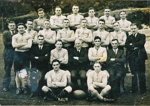 Rugby team photograph; Unknown; Unknown; 2005.175.18