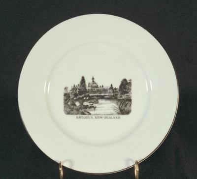 Plate; RKG; Unknown; 1994.28.14
