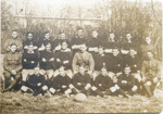 Army rugby team, Capt R Dansey (centre); Unknown; Circa 1916; CP-3788