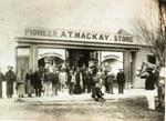 Pioneer Store, Tutanekai/Arawa streets, CP-2155