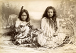 Two young girls sitting; Arthur James Iles; Unknown; OP-2651