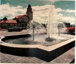 Municipal fountain Fenton street, Circa 1970, OP-4825