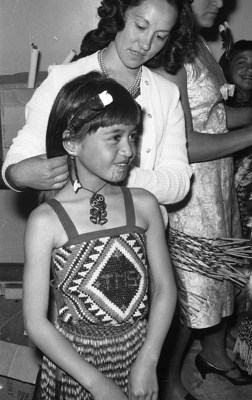 Irini and Tahamoana cultural performance; Jack Lang; 1966; 2010.100.948