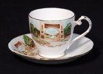 Cup and saucer; Royal Grafton; Unknown; 2004.5.3