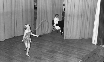 Skipping girl; Jack Lang; 1967; 2010.100.1583