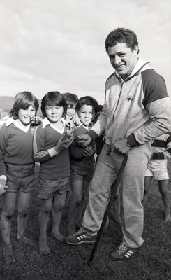 Boys rugby and Hika Reid; Unknown; 19/07/1980; 2008.138.3