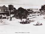 South east corner Tutanekai/Arawa streets, Circa 1955, CP-2671
