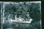 Tourists in boat, Hamurana, 13/02/1912, GP-178