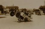Bucking car, Troughton, Charles, Circa 1930, OP-1043