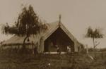 Payton at Easel - Whakaue house, Payton, Edward W., OP-1176