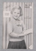 Knitting Pattern: Girl's Twin Set No.211; Orion; Unknown; 2010.71.1