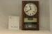"""30 days """"Rhythm"""" striking wall clock with calender. Made in Japan c1970; Rhythm, Japan.; 1970; 564"""