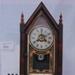 Steeple shape alarm shelf clock, made by  Jerome,  USA c 1850; Jerome & Co, New Haven, USA; 1850; 255