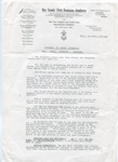 1926 - 1st Dominion Jamboree circular letter; 1925