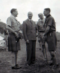 1947 Sir Joseph Ward at Moisson Jamboree