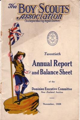 1928 Scouts' Annual Report
