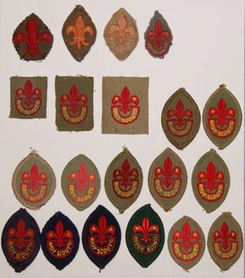 1907 Tenderfoot badge