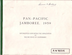 1959 Pan Pacific Jamboree, Canterbury bid