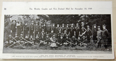 1910 Northcote Scout Troops of Auckland