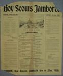 1926 Dunedin Jamboree poster