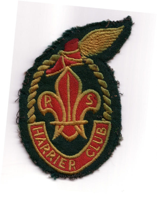 Rover Harrier Club emblem; 1950's
