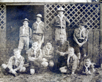 1919 St Albans Scout Troop Easter Camp