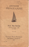 1947 2nd Sea Scout Regatta programme