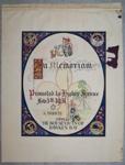 1931 Hawkes Bay In Memorium certificate