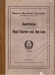 1920 Constitution, Royal Charter and ByeLaws