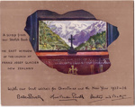 1935 Baden-Powell Christmas card; 1935