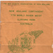 1961 Official Haka and Song Sheets; Boy Scouts Association of New Zealand; 03/2009/9477