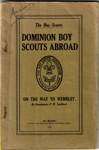 Dominion Boy Scouts Abroad; F.W. Sandford; 1924