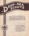 1960's Deep Sea Scout pamphlet