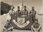 1954 Cashmere Scout Troop at the Canterbury Jamborette