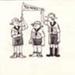 Scout comic sketch of Tui Patrol; John Stuart Hay; 1960's